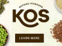 Get 20% off on all KOS products